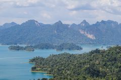 KHAO SOK National Park, Suratthani Thailand Royalty-vrije Stock Fotografie