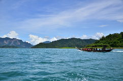 This is khao sok national park Royalty Free Stock Image