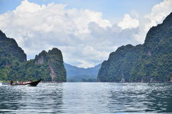 This is khao sok national park Stock Photography