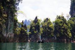 Khao Sok National Park, Thailand Arkivfoton