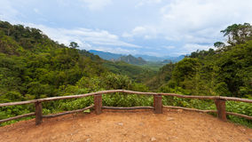 Khao sok national park view point, Thailand Stock Photos