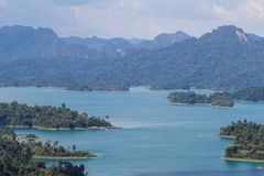 KHAO SOK park narodowy, Suratthani Tajlandia Obraz Royalty Free