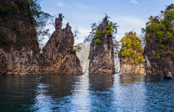 Khao soku park narodowy suratthani Fotografia Royalty Free