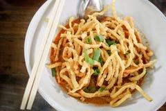 Khao soy Stock Photo