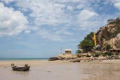 Khao takiab海滩在泰国 免版税库存图片