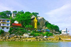 Khao takiab tempel royalty-vrije stock afbeelding