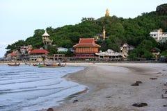 Khao Tao Buddyjskiej świątyni kompleks Zdjęcie Royalty Free