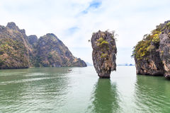 Khao tapu, james bond island Royalty Free Stock Photos