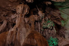 Khao Wang de la cueva Fotografía de archivo