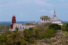 Khao Wang (parque histórico de Phra Nakhon Khiri) imagen de archivo