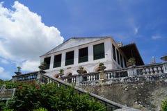 Khao Wang slott Arkivbild