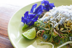 Khao yam, rice salad Royalty Free Stock Photos
