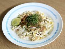 Khao yam, rice salad, thai cuisine Stock Photos