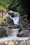 Khaochamuo waterfall. Beautiful waterfall at Rayong Thailand Royalty Free Stock Images