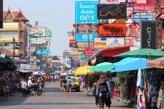 Khaosan Road, Bangkok Royalty Free Stock Images