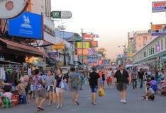 Khaosan Road Bangkok Tourism Stock Image