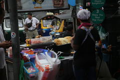 Khao San Road in Bangkok, Thailand stock image