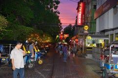 Khaosan-Straße Stockbild