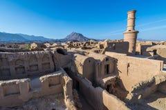 Kharanaq en Irán Imagen de archivo libre de regalías