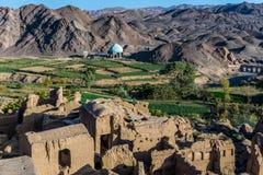 Kharanaq i Iran Royaltyfri Foto