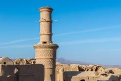 Kharanaq nell'Iran Fotografia Stock