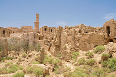 Kharanaq w Iran Zdjęcie Royalty Free