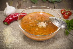 Kharcho soup Royalty Free Stock Photography