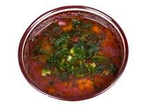 Kharcho tradicional de la sopa Fotos de archivo libres de regalías