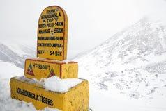 Khardung La Pass, Ladakh, India Stock Images
