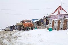 Khardung La Pass, Ladakh, India Stock Photo