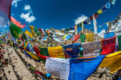 Khardungla-Durchlauf-Schrein Stockbild