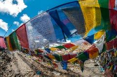 Khardungla-Durchlauf-Schrein Lizenzfreies Stockbild