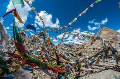 Khardungla-Durchlauf-Schrein Stockbilder