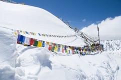 Khardungla, the highest road in India Stock Photography
