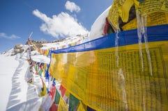 Khardungla, the highest road in India Royalty Free Stock Image