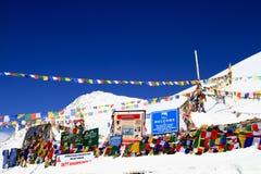 Khardungla pass Royalty Free Stock Images