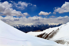 Khardungla pass Royalty Free Stock Images