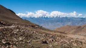 Khardungla passerande Royaltyfri Bild