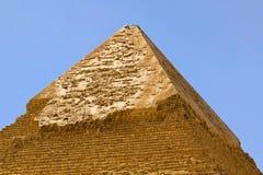 kharfe金字塔顶层 免版税库存照片