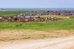 Kharhorin centrala Mongoliet Fotografering för Bildbyråer