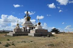 Kharkhorin Erdene Zuu kloster Arkivbilder
