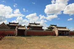 Kharkhorin Erdene Zuu kloster Royaltyfri Fotografi