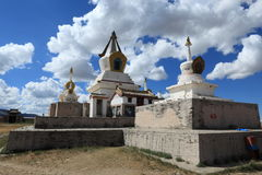 Kharkhorin Erdene Zuu kloster Arkivfoton
