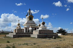 Kharkhorin Erdene Zuu kloster Royaltyfri Foto