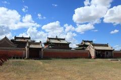 Kharkhorin Erdene Zuu kloster Arkivfoto