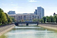 Kharkiv cityscape Royaltyfria Bilder