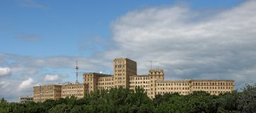 Kharkiv-Hochschulgebäude stockfotos