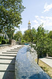 Kharkiv, public garden Royalty Free Stock Photography