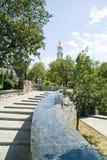Kharkiv, public garden. Town landscape, city Kharkiv, public Royalty Free Stock Photography