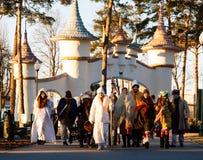 Kharkiv Ukraina jul Fotografering för Bildbyråer